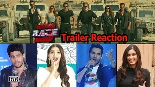 'Race 3' Trailer receives SHOCKING reactions from Celebrities