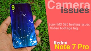 Don't Buy Note 7 Pro Big issues with Sony IMX 586 sensor | Video footage lag | Heating issues