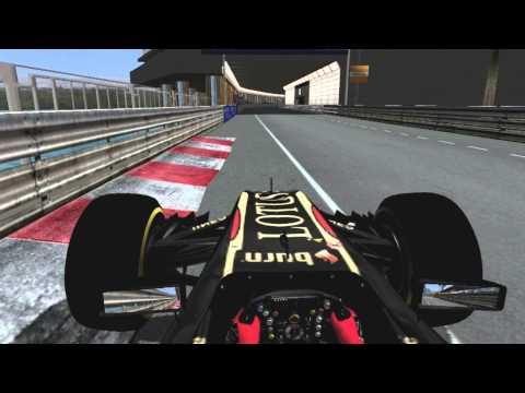 F1 2014 Monaco Grand Prix - Maldonado Onboard (rFactor)
