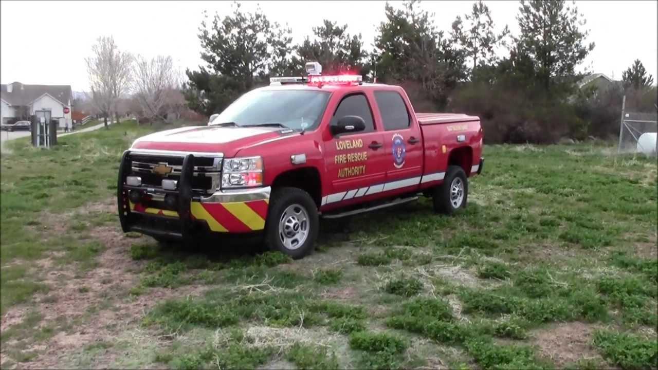 Loveland Fire Rescue Batallion Chief Truck Colorado