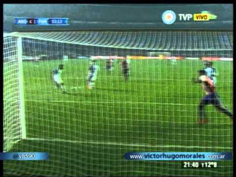 Argentina 6 Paraguay 1 (Relato Victor Hugo)  Copa America 2015