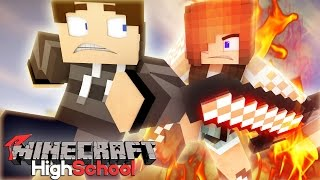 Angry Wife | Minecraft HighSchool [S8: Ep.5 Minecraft Roleplay Adventure]