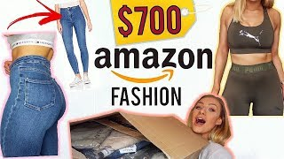 $700 AMAZON FASHION HAUL   THIS IS MY NEW FAVOURITE SHOP!!