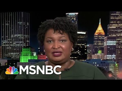 Stacey Abrams: Voter Suppression In Georgia Is