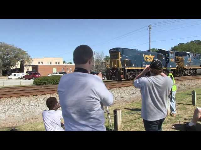 Folkston Railwatch 2013 - Only In America