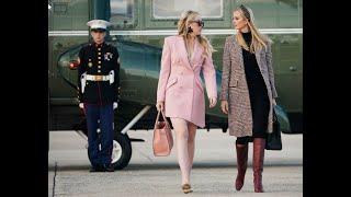 Tiffany Trump Went Full Millennial Pink on Her Way to Mar-a-Lago