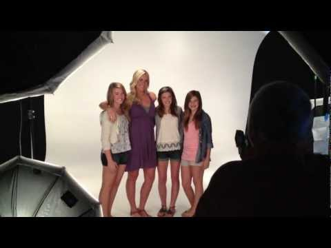 Soul Surfer Bethany Hamilton Damon Braces Photo Shoot (Group)