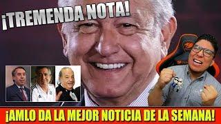HOY AMLO ¡DA TREMENDA NOTA! TIEMBLA EL HOMBRE MÁS RICO DE MÉXICO