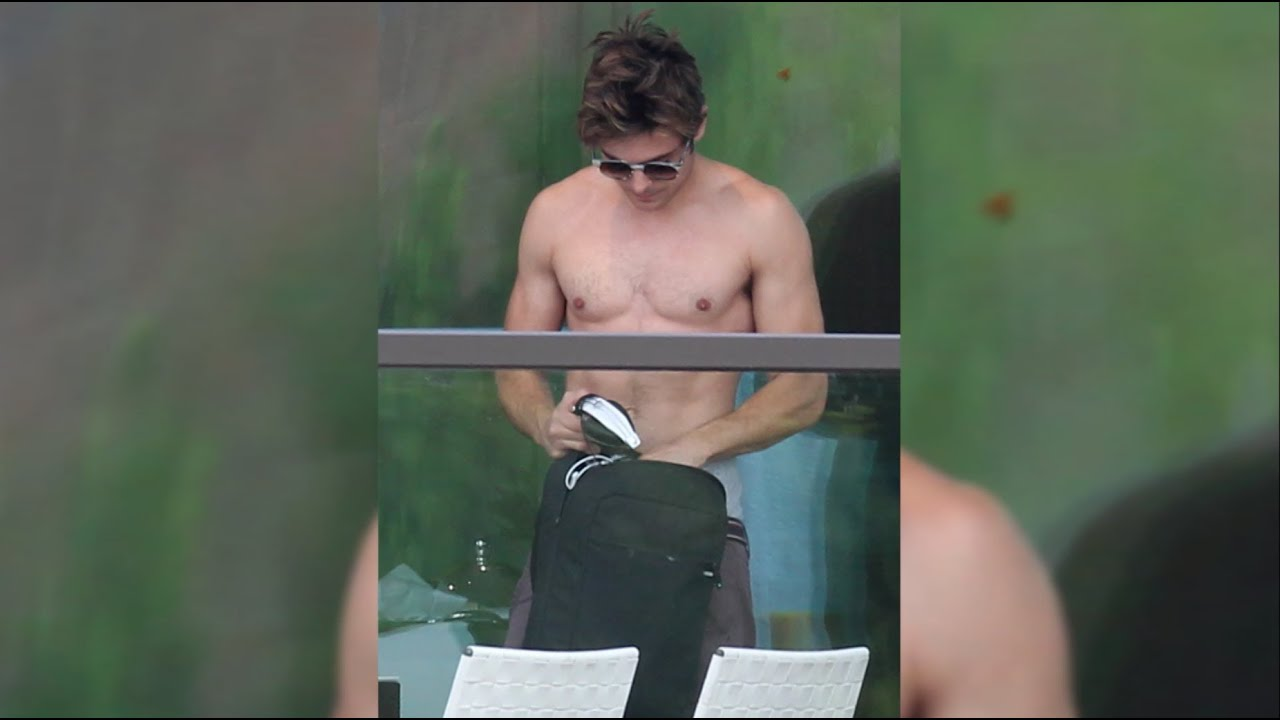 Zac Efron The Lucky One Shirtless Zac Efron Goes Shirtle...