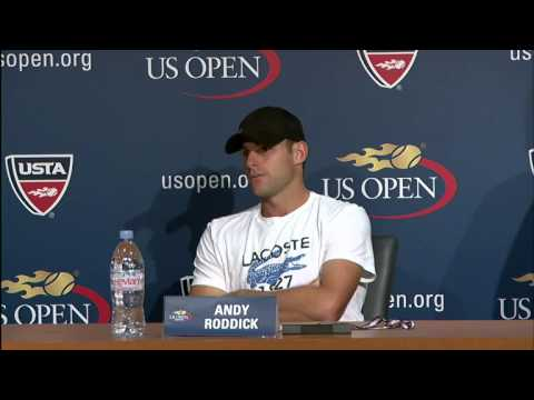 2012 US Open: Andy Roddick's Final Career Press Conference