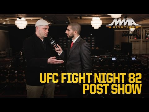 UFC Fight Night 82 Post-Fight Show