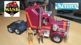 M.A.S.K Camion Rhino ( jouet Kenner mask ) présentation en français FR HD