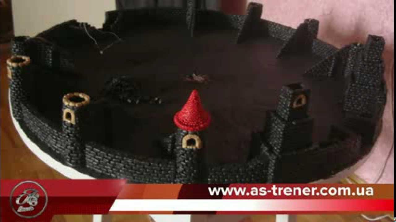 Крепость из пластилина: Замок из пластилина за 1 дней)))) Страна Мастеров, вызов принят от марьяны