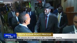 South Sudan: warring leaders meet in Ethiopia