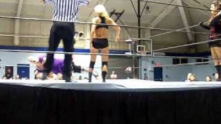 """CCW"" Lil Leva & Amy Love vs Shooterella ""TNA"" Rosie Lottalove"