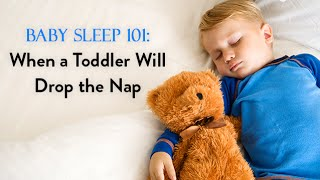 Baby Sleep 101: When Your Toddler Will Drop the Nap   CloudMom