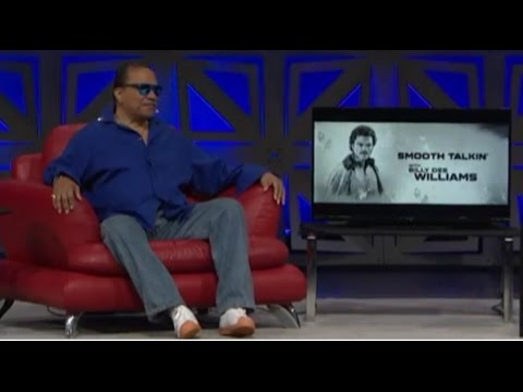 Smooth Talkin' With Billy Dee Williams Panel - Star Wars Celebration 2017 Orlando