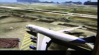 GTA5 TUTO:Ou trouver un avion de ligne?+FAILS