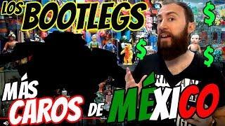 TOP 5 JUGUETES BOOTLEG MÁS CAROS DE MÉXICO TOYS MOST EXPENSIVE RARE TOY COLECCIONABLES