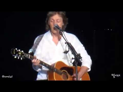 Paul McCartney - Yesterday [20150502 OUT THERE Live in Seoul, Korea]