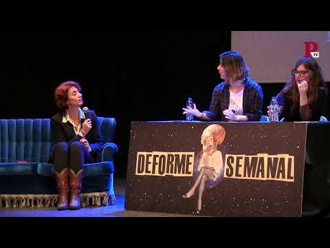 Deforme Semanal 1x14 - 3.Entrevista a Celia Blanco