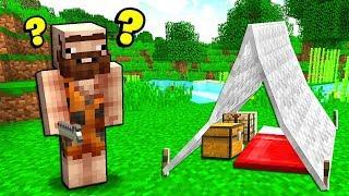 INSEGNO A UN NABBO A COSTRUIRE - Minecraft ITA
