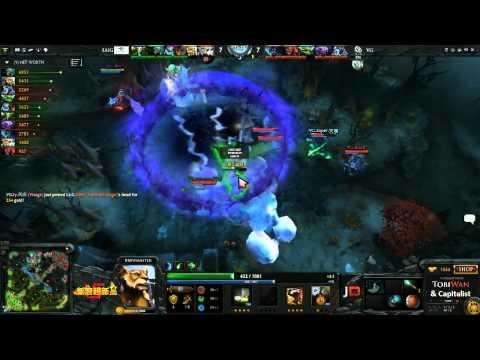 Vici Gaming vs LAI Gaming Game 2  Sina Cup TobiWanDOTA DotaCapitalist