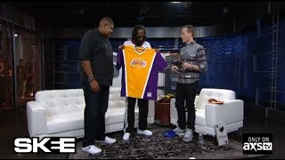 Snoop Dogg Talks Mark Cuban and  Lakers Basketball on SKEE Live!