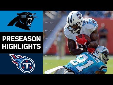 Panthers Vs Ans Nfl Preseason Week 2 Game Highlights