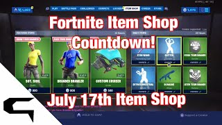 Gifting Skins!! FORTNITE ITEM SHOP COUNTDOWN July 17th item shop Fortnite battle royale