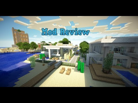 Minecraft Mod Review: GLSL Shaders Mod W/ Extra Shader Packs (1.5.2)