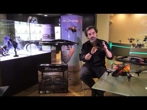 Videotutorial del AR DRONE 2.0 en español
