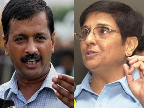 Kiran Bedi Vs Arvind Kejriwal: From friends to foes