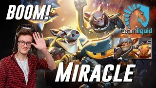 Miracle Techies BOOM! - Dota 2 Pro MMR Gameplay