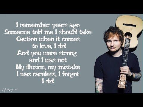 Ed Sheeran - Impossible (Lyrics)