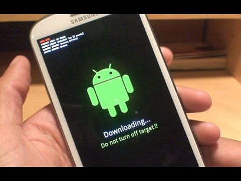 How to Root Android 4.1 Jelly Bean on Samsung Galaxy S3 Easily SIII GT-i9300