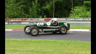 Pre-war & Vintage Cars Attacking Nordschleife 15.06.2018 Nurburgring Classic