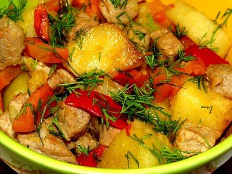 Рецепты приготовления овощей с мясом в горшочках