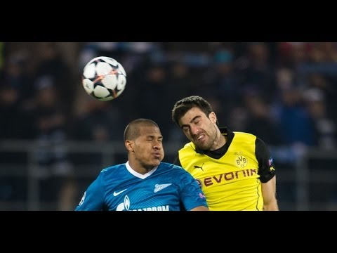 Borussia Dortmund 1 : 2 Zenit St. Petersburg - 19.März - UEFA CHAMPIONS LEAGUE [Prognose]