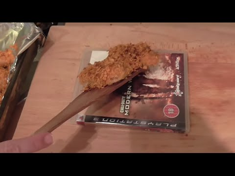 How To Make Sweet Chilli Chicken Strips With Doritos and Mountain Dew