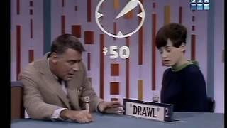 PASSWORD 1966-10-25 Barbara Eden & Peter Lawford
