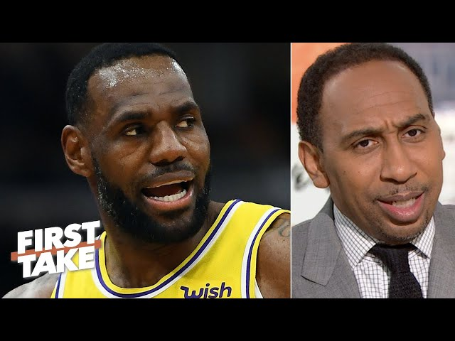 Stephen A. congratulates LeBron on being the 2nd-greatest NBA player ever | First Take thumbnail