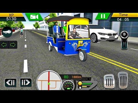 Tuk Tuk Driving Simulator 2018 - Driving Games Android gameplay