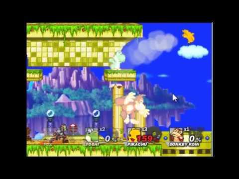 Primeras Impresiones: Super Smash Flash 2. Demo 0.8