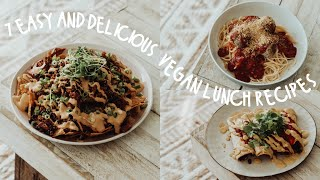 A Week Of Vegan Lunches | Easy & Delicious Recipes!