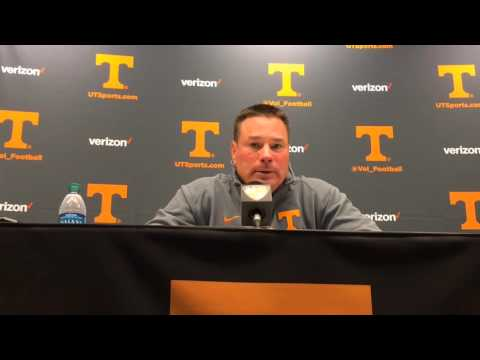 Butch Jones Postgame 10-3-15