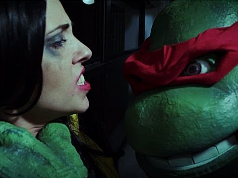 Ninja Turtles Interrogate Megan Fox