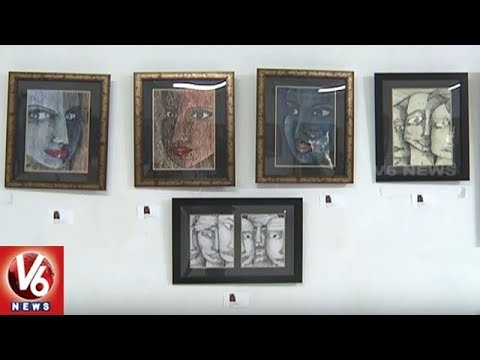 Colour Spectra 2 Art Exhibition Grandly Commenced At Ravindra Bharathi | Hyderabad | V6 News