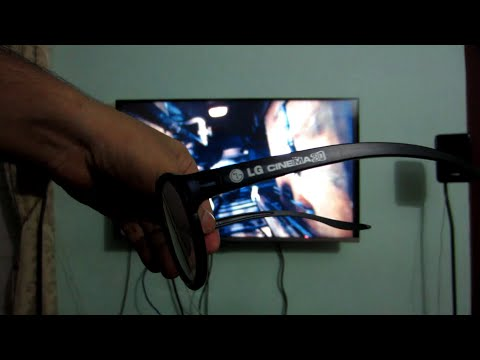 Passive 3D Settings and Modes Review - LG WebOs led Tv 2014 - 42LB6700 - Using Real D Glass - India