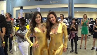 Hot girls & Hot Supercars Crazy Custom Tuning Forgiato Fest HOTTEST Miami Car Show